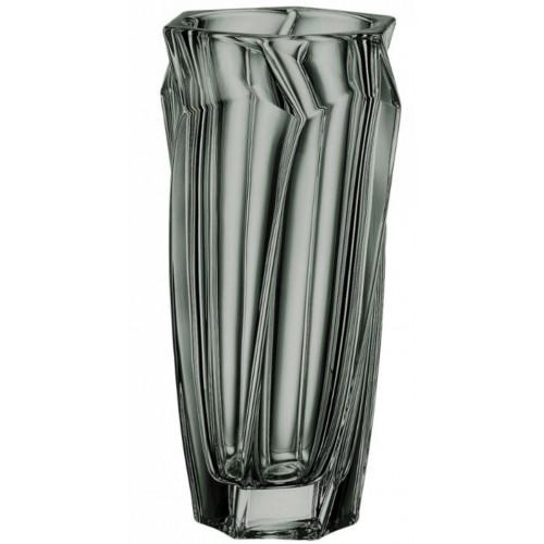 Κρυστάλλινο Βάζο 30,5εκ. 0012502, Macao Grey Smoke, BOHEMIA