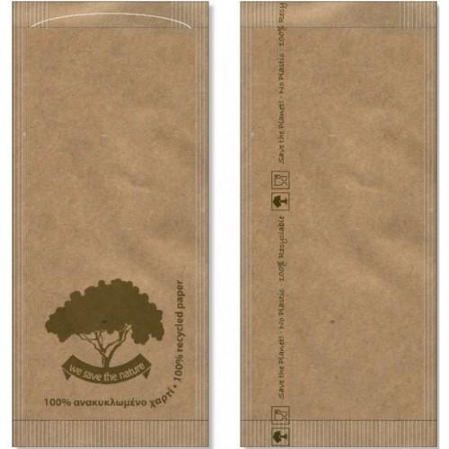 Θήκη Μαχαιροπήρουνων Havana Δέντρο Χάρτινη 25Χ11εκ. Συσκ. 1000 Τεμ. 11-H1146, PAPERQ