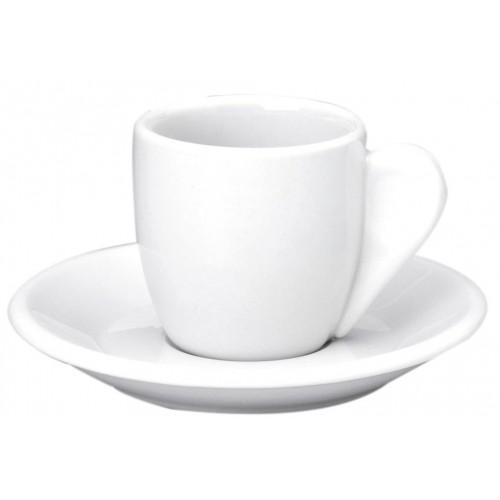 Φλυτζάνι Καφενείου Λευκή Πορσελάνη, Συσκ. 24τεμ.,64-33108, GTSA