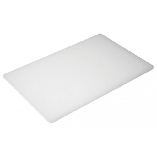 Πλάκα Κοπής Λευκή Πολυαιθυλενίου (ΡΕ) 50Χ30Χ1,3εκ., 77-53131, GTSA