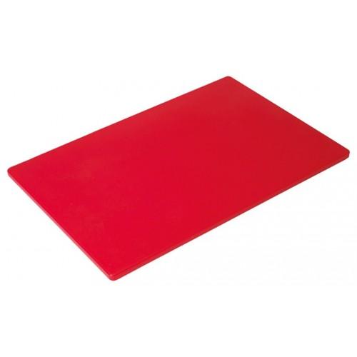 Πλάκα Κοπής Κόκκινη Πολυαιθυλενίου (ΡΕ) 50Χ30Χ1,3εκ., 77-53133, GTSA