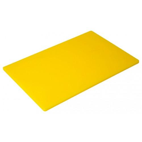 Πλάκα Κοπής Κίτρινη Πολυαιθυλενίου (ΡΕ) 50Χ30Χ1,3εκ., 77-53135, GTSA