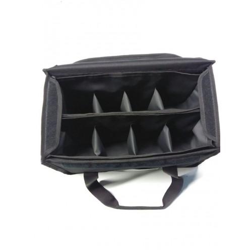 Ισοθερμική Τσάντα Μεταφοράς 8 Θέσεων Με Χωρίσματα, 44Χ23Χ22εκ., 80-4423, GTSA
