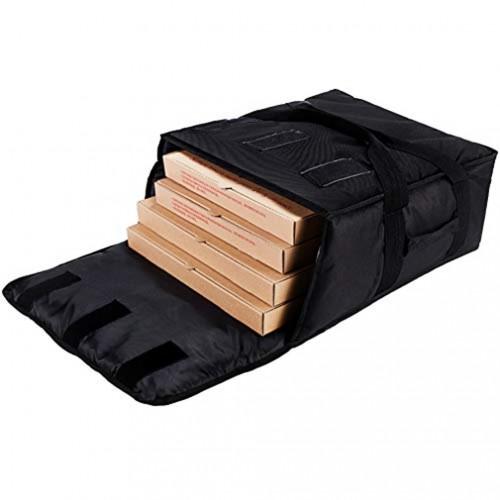 Ισοθερμική Τσάντα Μεταφοράς Πίτσας, 38Χ35Χ16εκ., 80-6535, GTSA